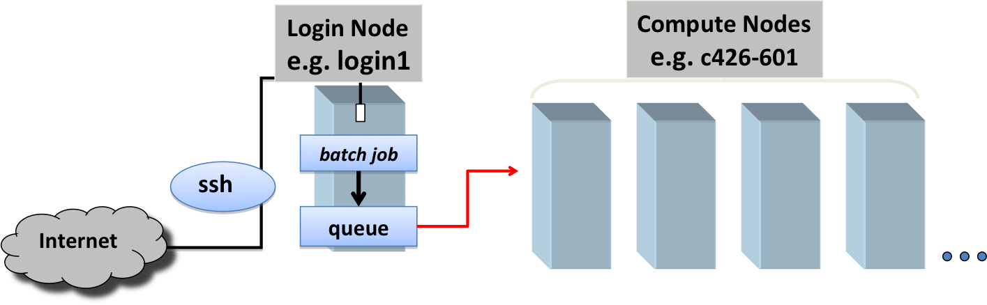 Login and Compute nodes